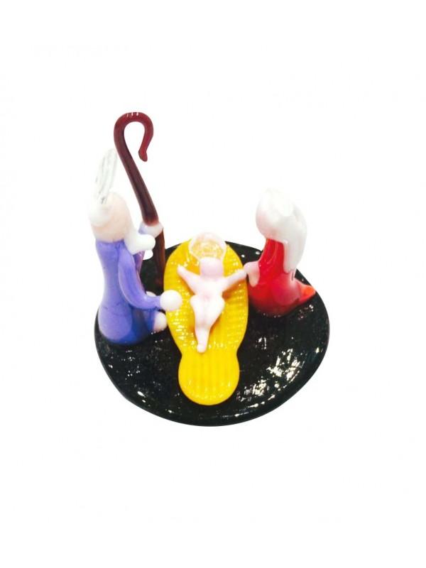 Murano Glass Nativity MGN005