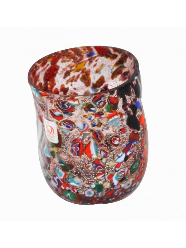 Small Murano Red Glass BB19