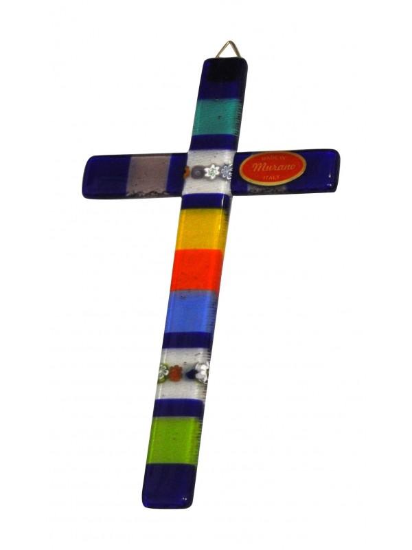 Murano Glass Cross CR001