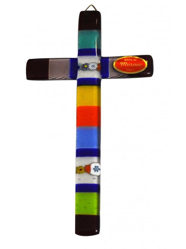 Murano Glass Cross CR003