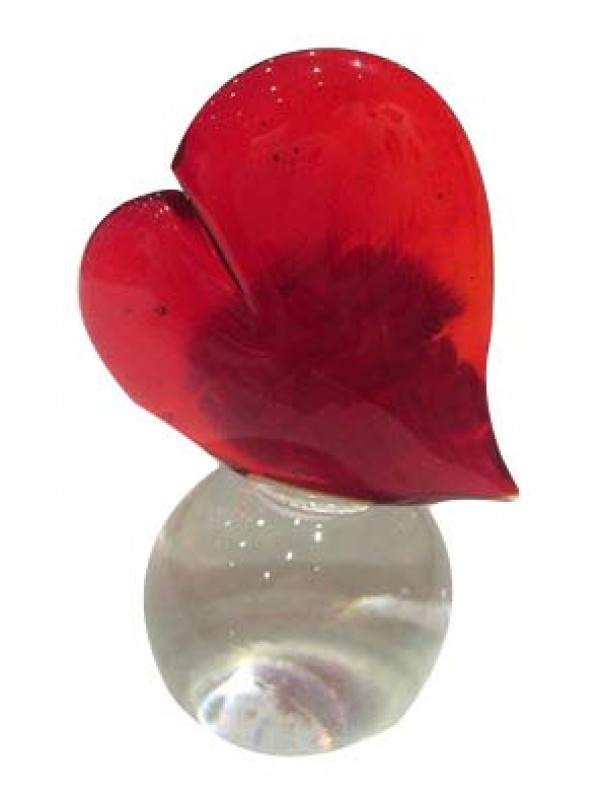 Murano Glass Small Heart
