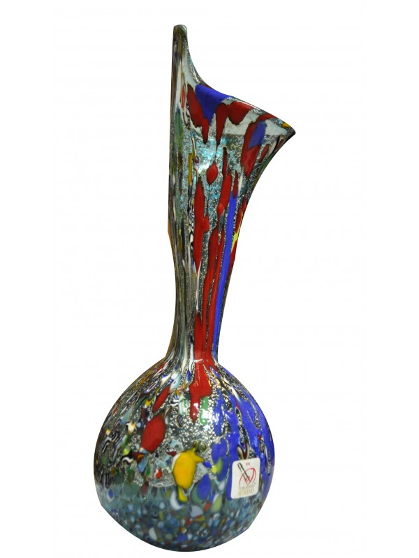 Blue Murano glass vase VV009