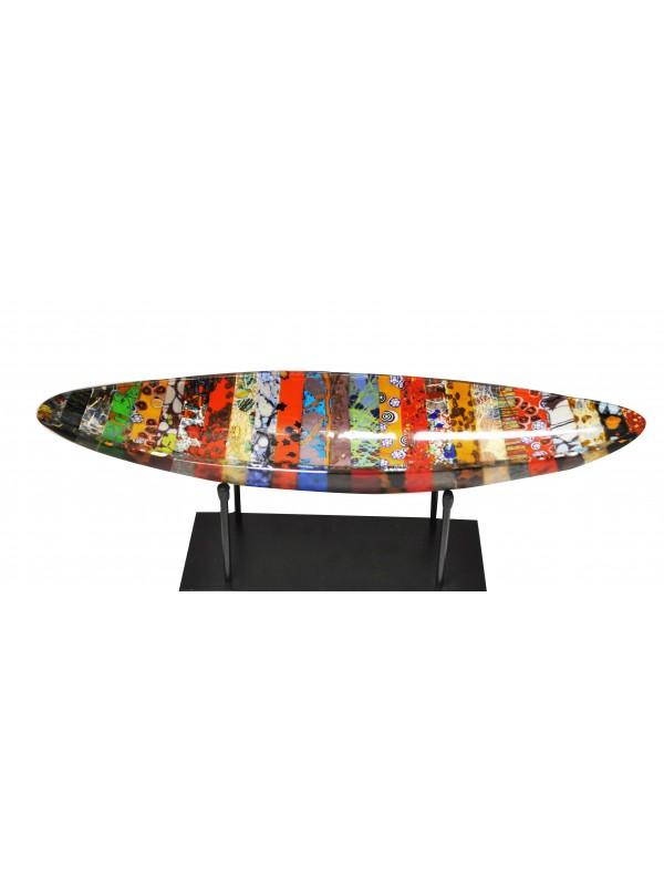 Beautiful Damasco Canoa in Murano Glass DC001