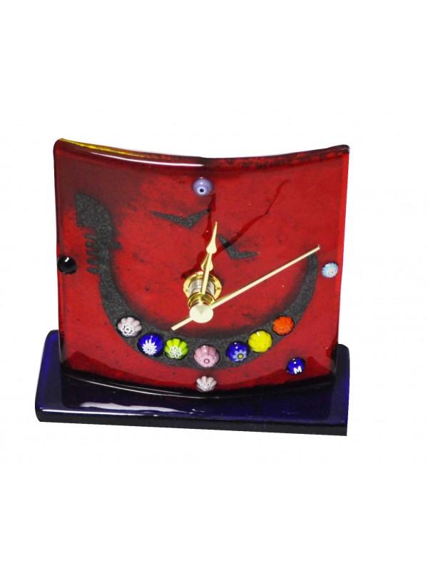 Beautiul Murano Glass table clock