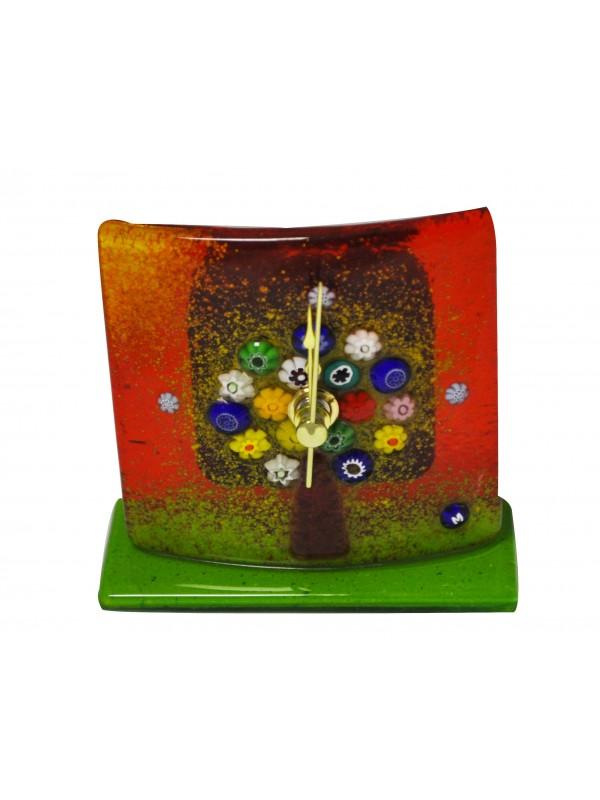 Murano Glass Table Clock