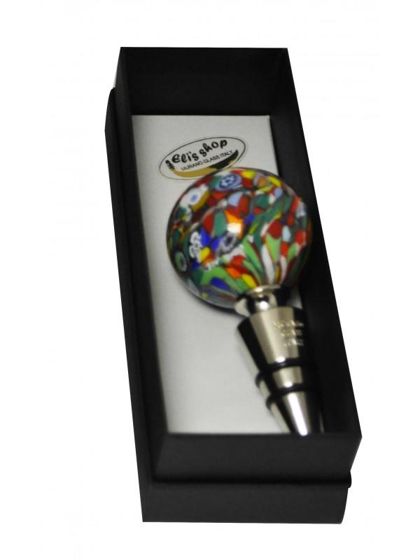 Murano Glass Bottle Stopper VS03