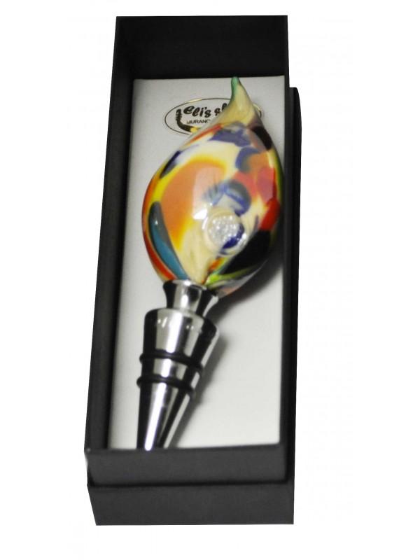 Murano Glass Bottle Stopper VS04