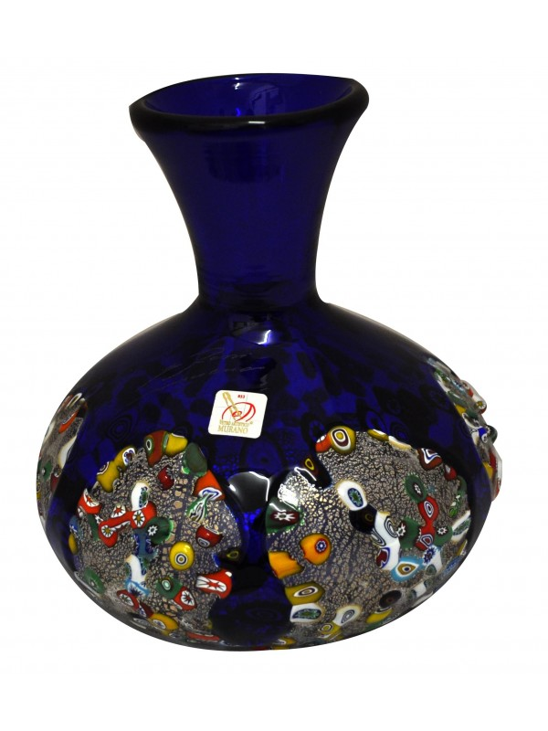 Murano Glass Blue Jug CC19