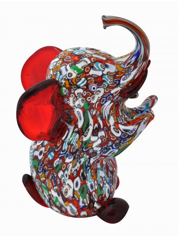 Elefante in Vetro di Murano AA01