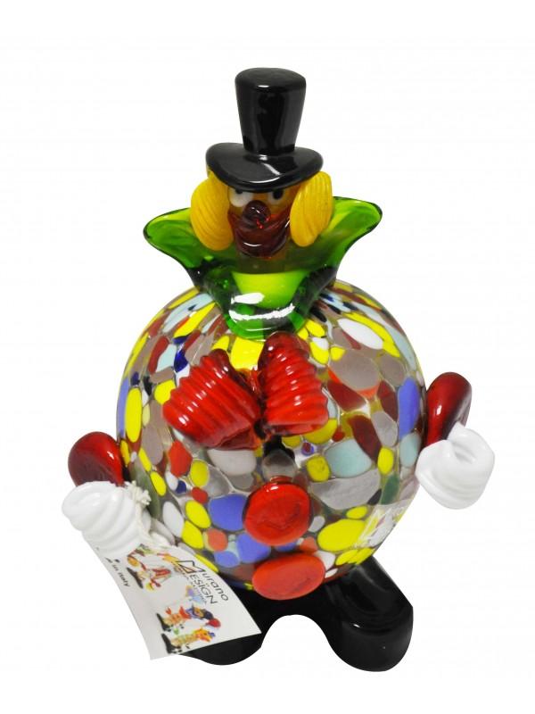 Clown in vetro di Murano MGC001